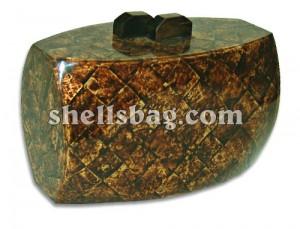 Capiz Shell Clutch Bag