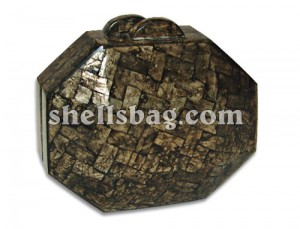 Octagonal Capiz Shell Bags