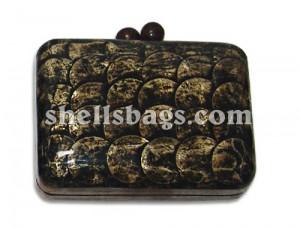 Shell Clutch Handbag