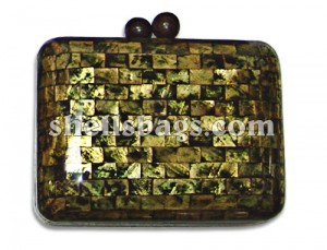 Capiz Shell Clutch Bag