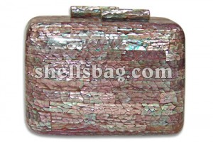 Lilac Abalone Shell Bags