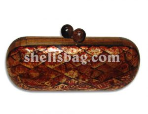 Oval Capiz Shell Handbag