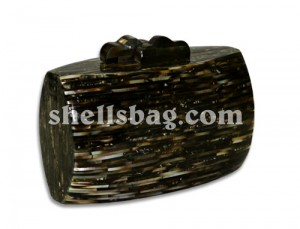 Blacklip Shell Fashion Bag