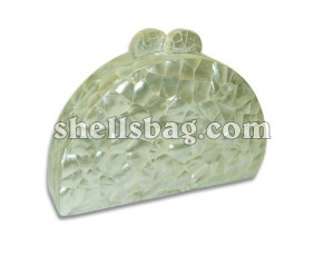 Fashion Bags & handbags made of shell