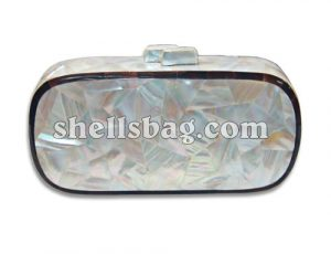 evening handbags made of shells