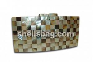 Handmade shell bag.
